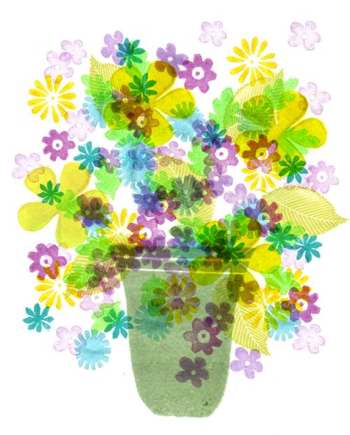 bloemenvaas klaar