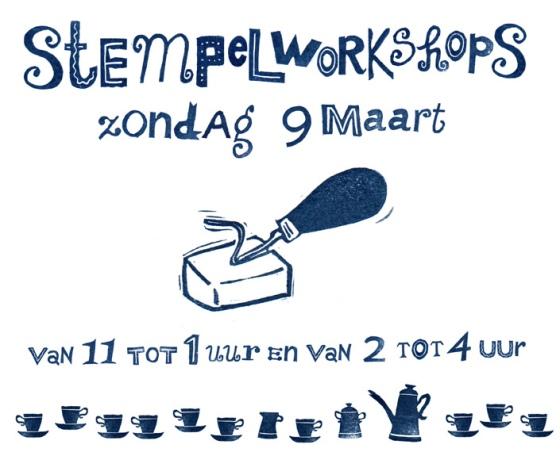 stempelworkshop 9 maart