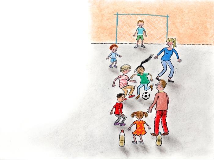 een held in voetbal pag. 34-35