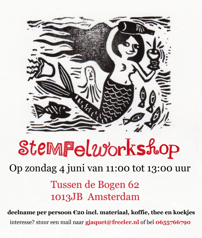 stempelworkshop 4 juni