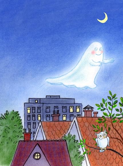flyer spookje van het dak definitief